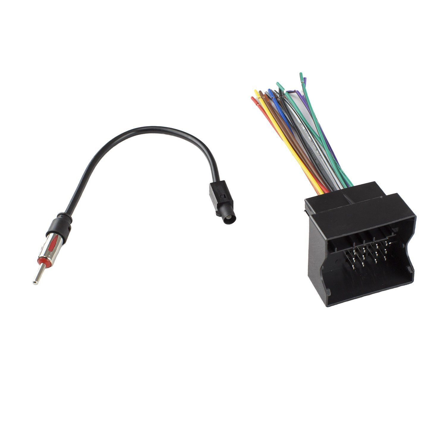 medium resolution of novosonics vwf 1010 vw7 wiring harness for mini cooper package includes vwf 1010 wire harness vw 7 radio antenna adapter connect an aftermarket stereo to