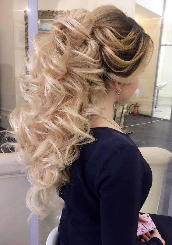 65 Long Bridesmaid Hair Bridal Hairstyles For Wedding 2019 Boda