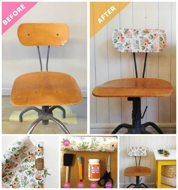 35 Awesome Ways To Give New Life To Old Furniture Vintage Chairs Makeover Furniture Diy Diy Garden Furniture