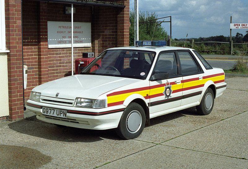 Austin Montego Sussex Police British police cars