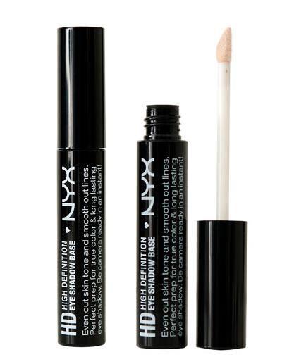 Nyx cosmetics hd eyeshadow base review