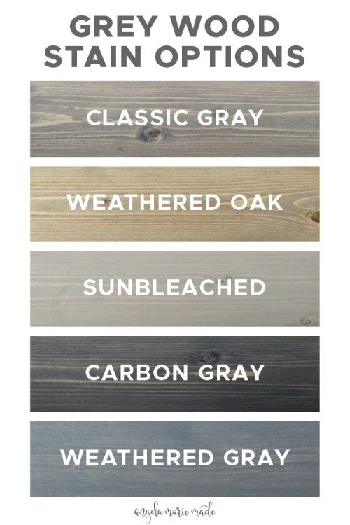 Photo of 5 Grey Wood Stain Options – Angela Marie Made