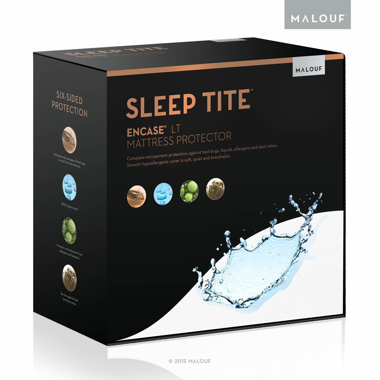 SLEEP TITE ENCASE LT Bug Proof Waterproof Mattress