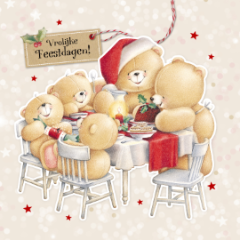 Kerstkaarten Forever Friends Echte Kaarten Maken Versturen