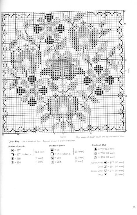 Gallery.ru / Фото #66 - Danish Cross-Stitch - tatasha - using 5!!! strands of thread