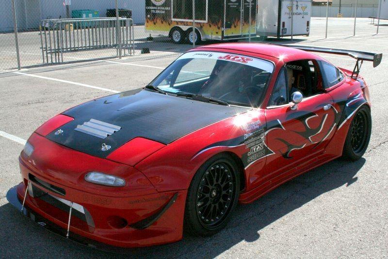 Custom Mazda Miata 1992 Tuned Mazda Mx5 Miata Presented By