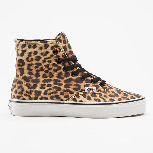 Leopard (Print) Authentic Hi (Top) Vans Sneakers ad882e564