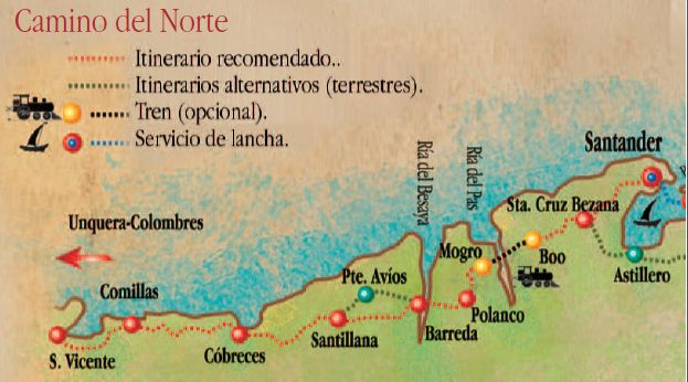 Camino De Santiago En Cantabria Spain Camino De Santiago Santiago De Compostela Santiago