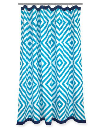 Jonathan Adler Arcade Shower Curtain Shower Curtain Designer