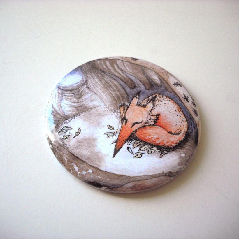 Fox Pocket Mirror   draw Gabby draw! Shop