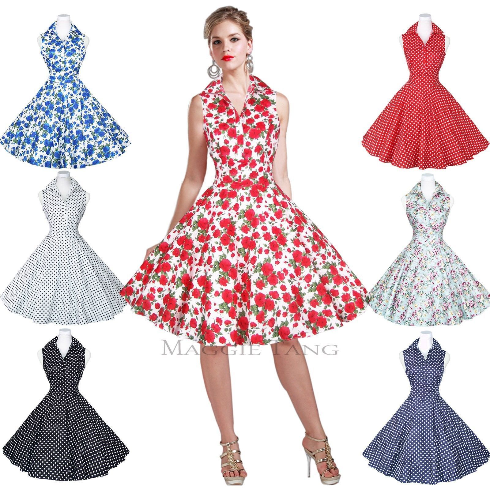 Maggie Tang 50s 60s Pin up Vintage Dancing Swing Jive Rockabilly ...
