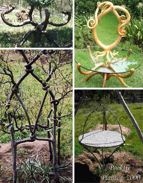 Unusual Items | Modern Fantasy Yard: 23 Magical Garden Furniture Items |  WebUrbanist