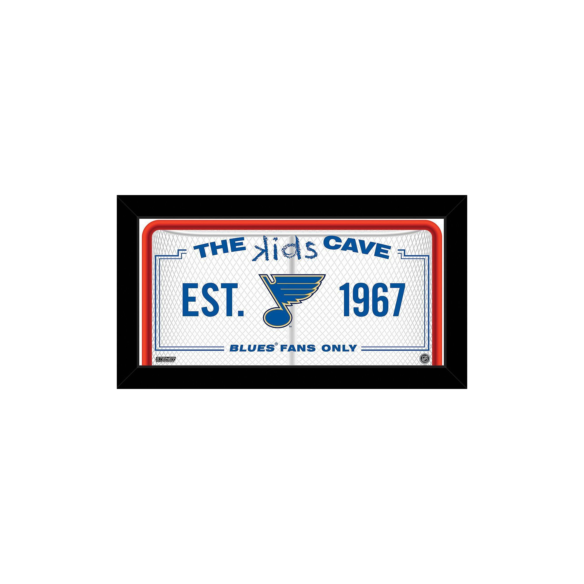 Steiner sports st louis blues