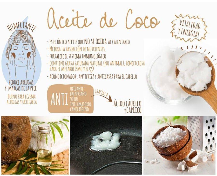 Beneficios Del Aceite De Coco En La Belleza No Puede Faltar En
