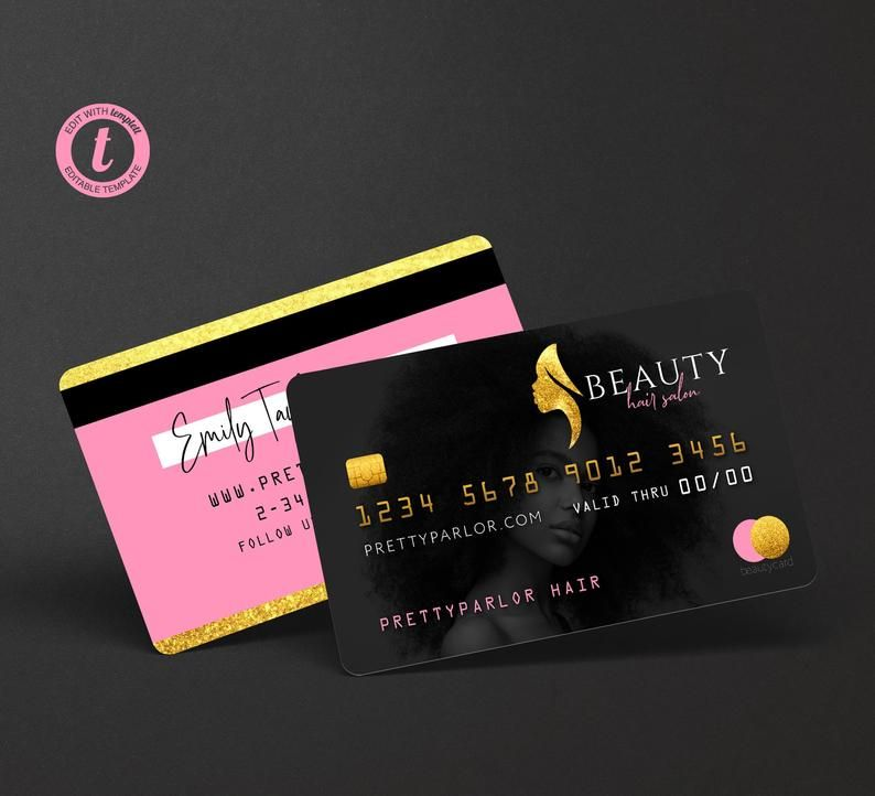 Pin On Credit Card Business Cards