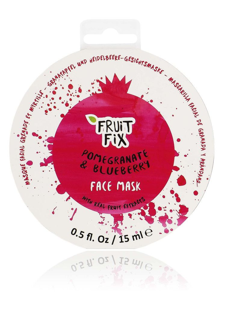 Fruit Fix Pomegranate and Blueberry Face Mask