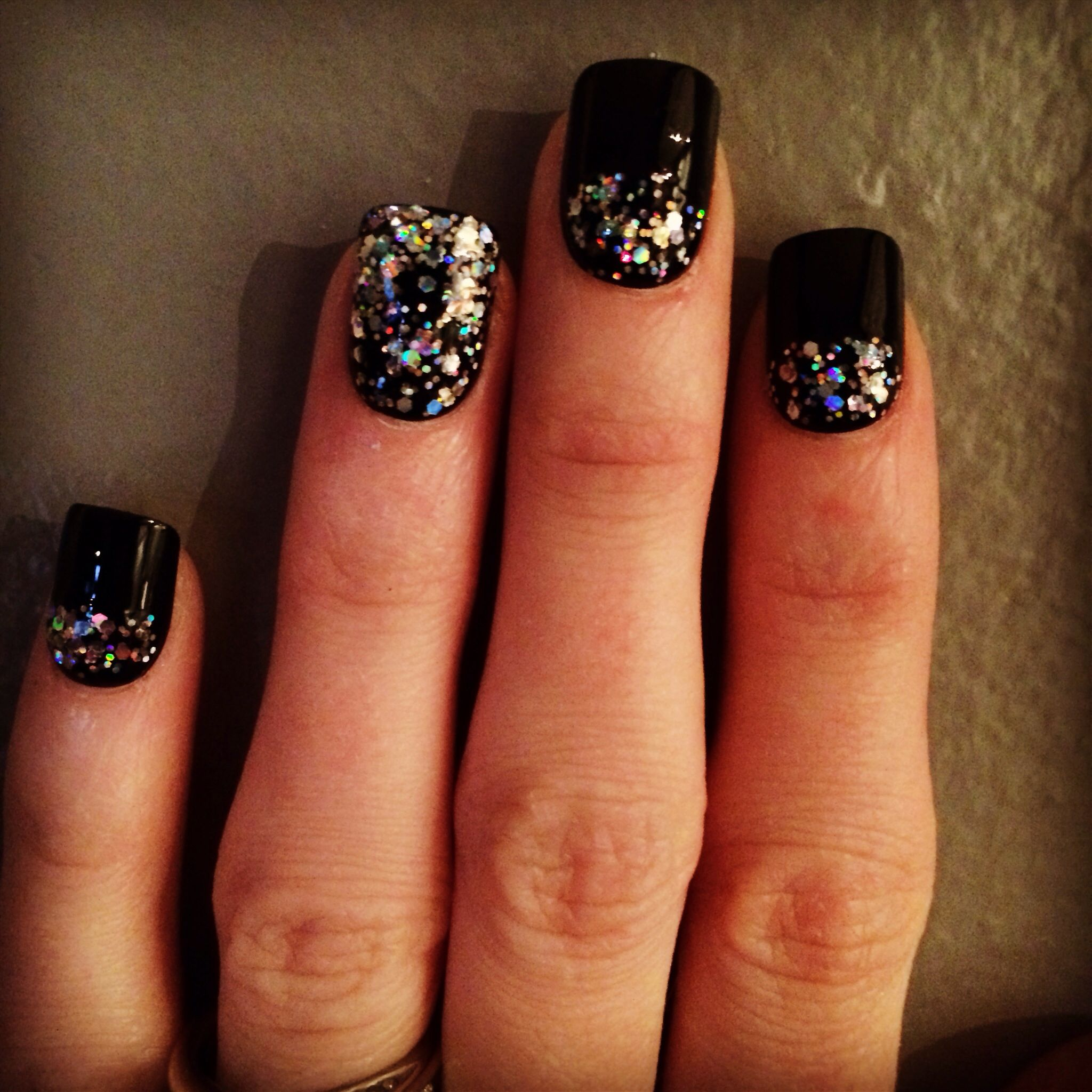 New Year's Eve nails! New years eve nails, Hair and