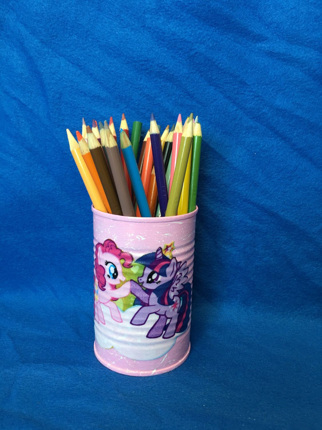 MY LITTLE PONY Can Holder/Pencils/Pens/Markers/Money/Candy/Hair Accessories/Gift Holder by KreationsGalore on Etsy