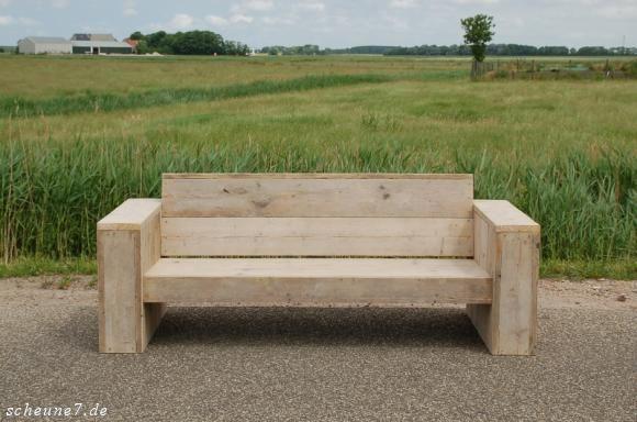 Loungebank Bunjeshusen Outdoor lounge, Bench and Woods - gartenmobel selber bauen anleitung