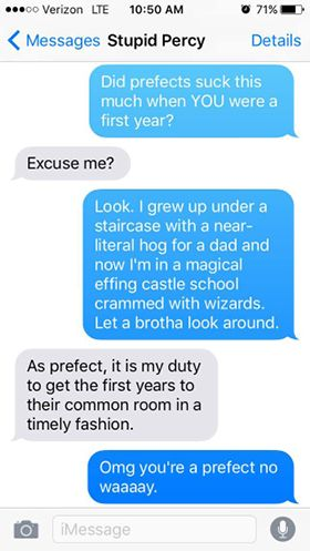 these mean texts from harry potter to other characters will make you