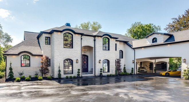 Modern French Chateau Style Custom Home Design I Could Never Get