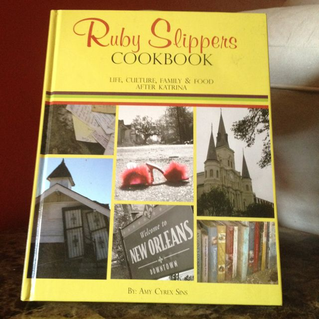 """Life, Culture, Family & Food After Katrina. By: Amy Cyrex Sins. Can purchase at """"Salon Vienne""""."""