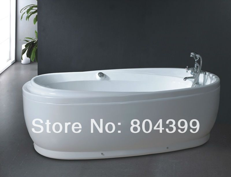 Wholesale freestanding whirlpool bathtub from Cheap freestanding whirlpool  bathtub Lots  Buy from Reliable freestanding whirlpool bathtub Wholesalers. B516 bath tub oval freestanding bathtub indoor whirlpool hot tubs