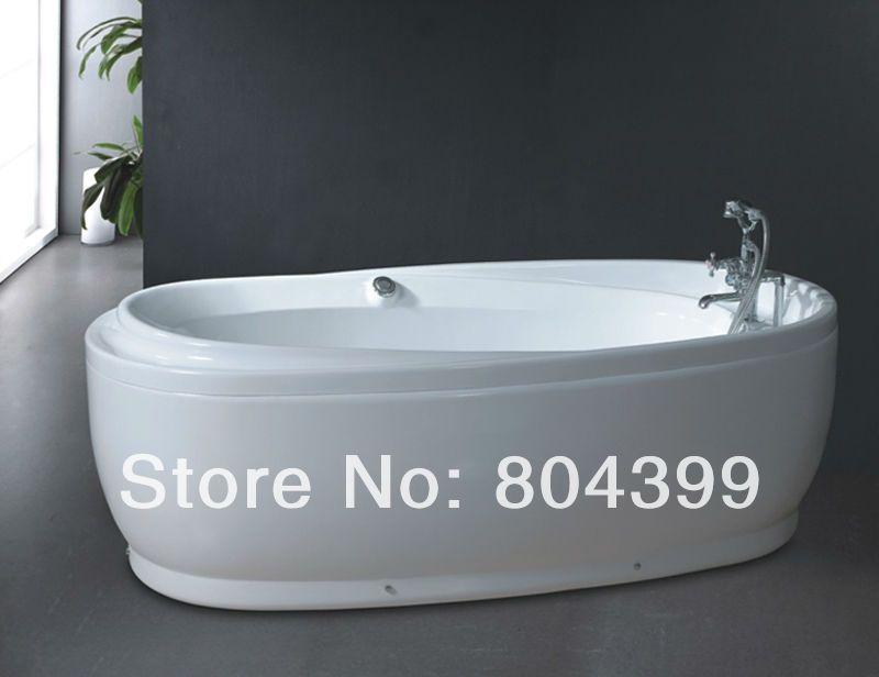 An ergonomic bathtub of comfort and luxury, the Thalia Oval ...