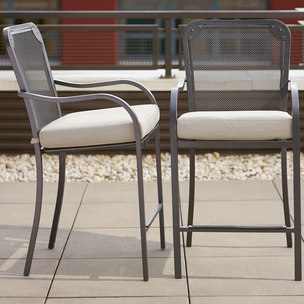 $249.00 For 2 Pack Vernon Hills High Patio Dining Chair With Back (2 Pack)  Homedepot.com