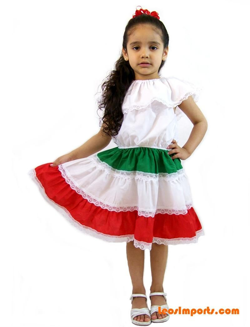 Mexican Dress 3 Colors Girls In 2019 Geo