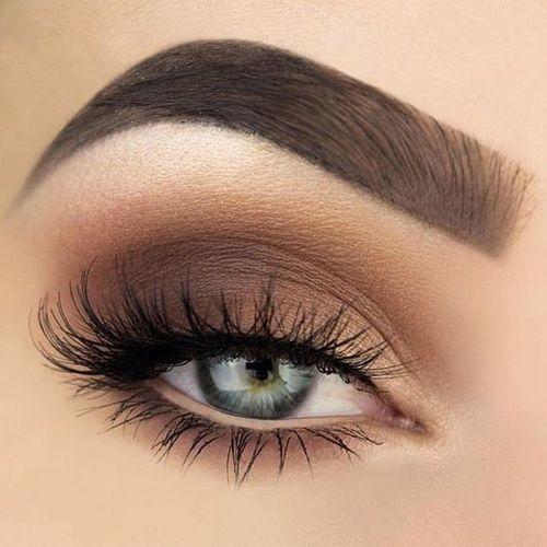 Makeup Eyebrows And Eyes Image Hair And Make Up Eye Makeup