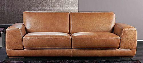 Modern Brown Leather Sofas