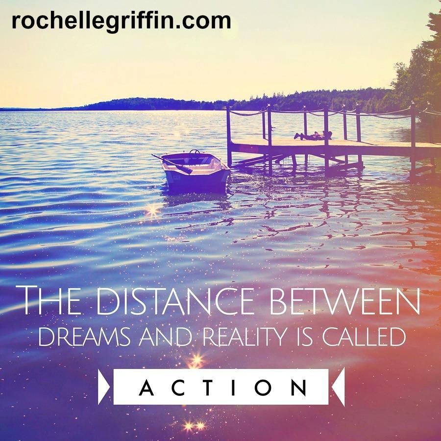 I can't emphasis this enough... ACTION is the key! 🔑 Our dreams won't materialize without actually DOING something.