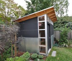 modern shed corrugated metal siding Yahoo Image Search Results