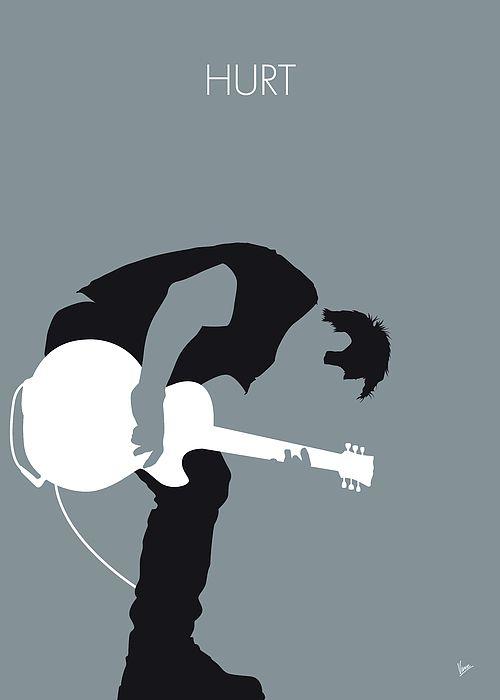 No197 MY Nine Inch Nails Minimal Music poster Nine, Inch, Nails ...