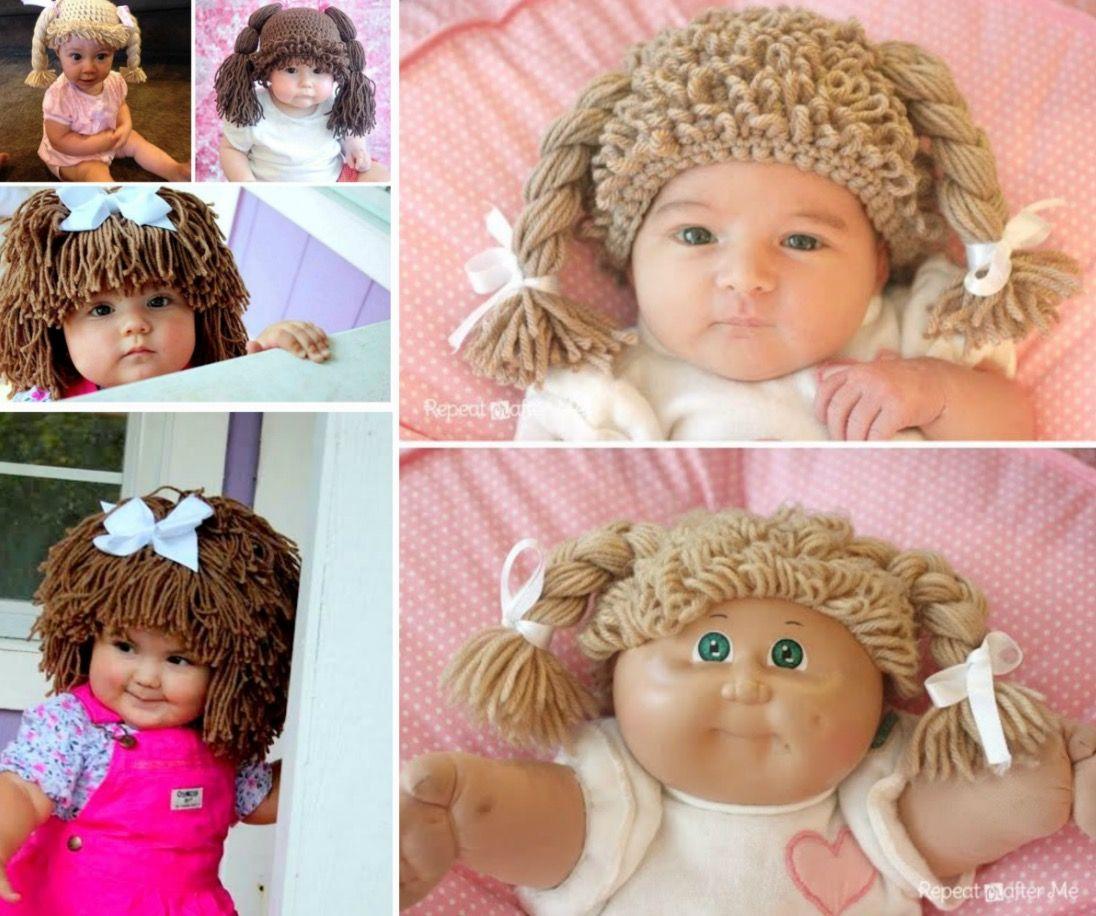 Crochet Cabbage Patch Hats Pattern Video Tutorial Diy Crafts