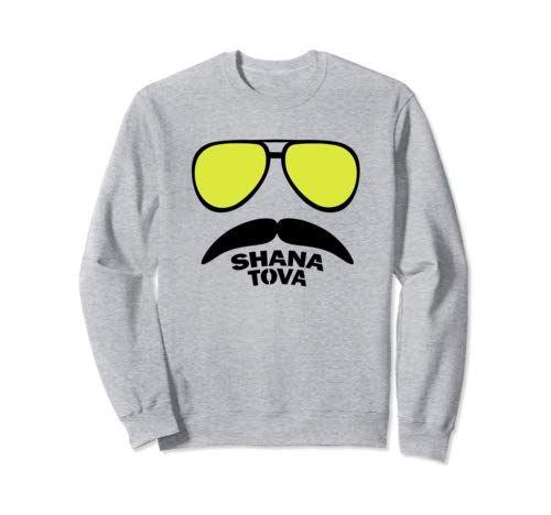 Shana Tova Gift  Funny Rosh Hashanah Jewish New Year  Sweatshirt #happyroshhashanah