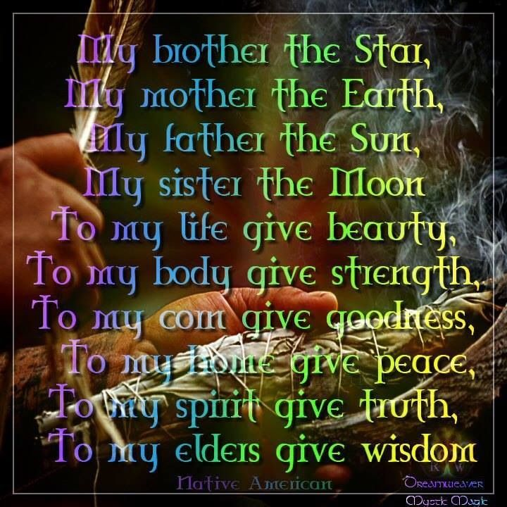 Brother Sun Sister Moon Words Native American Prayers Native