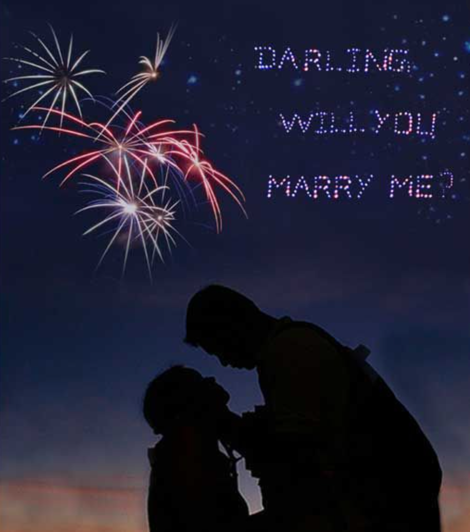 fireworks proposal🤩 in 2021 | Marry me, Wedding proposal