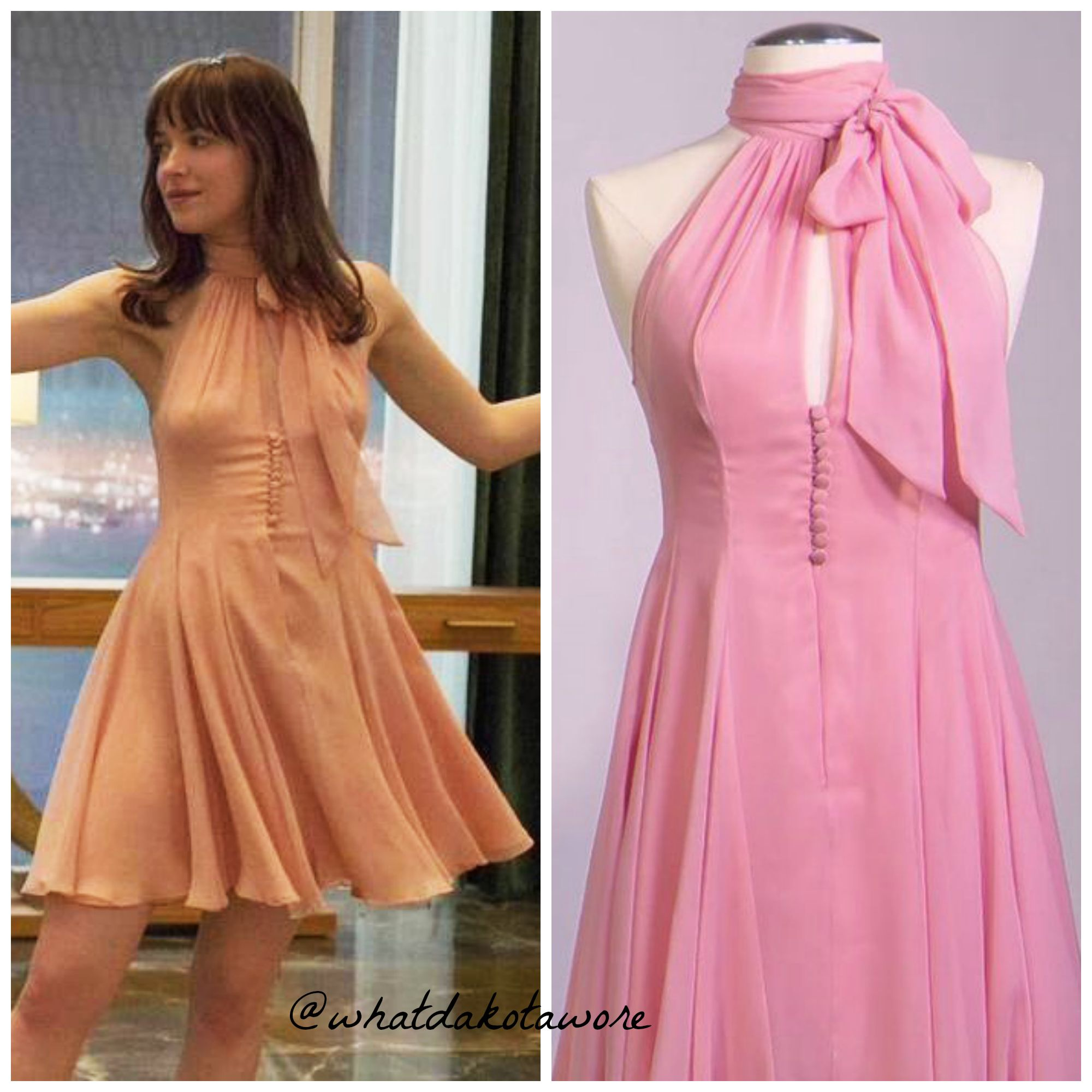Halter top dress from Fifty Shades of Grey | Dresses | Pinterest ...