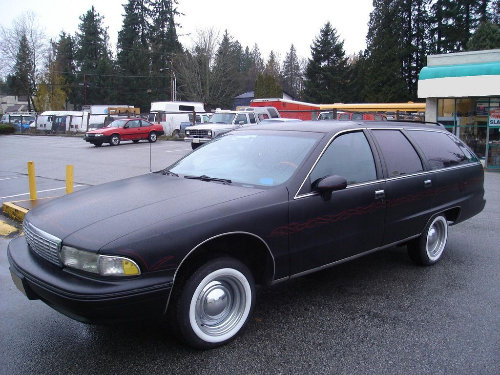 Customized Chevrolet Cavalier Station Wagon 1992 Chevrolet