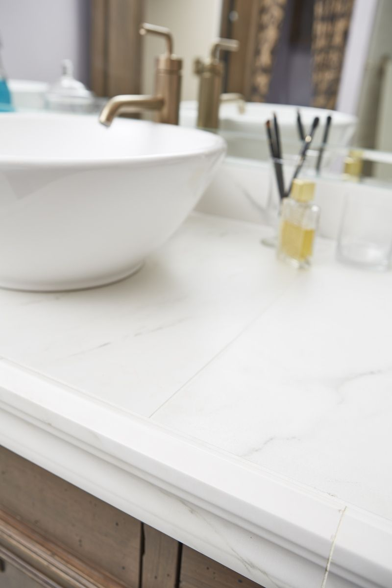 Featuring Crossville\'s Virtue porcelain tile collection ...