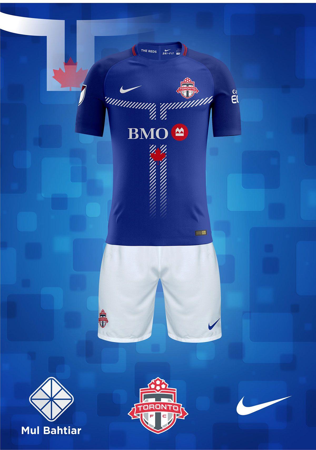 newest 3fbd4 06b39 Toronto F.C. 2018 Nike Fantasy Kits on Behance | Camisetas ...