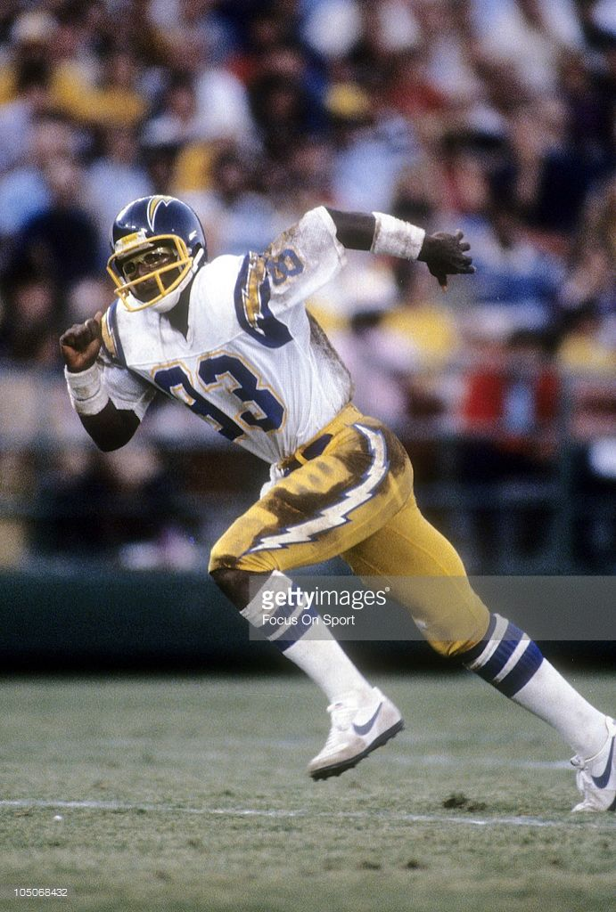 9a84ed879b Wide Receiver John Jefferson #83 of the San Diego Chargers   Wide ...