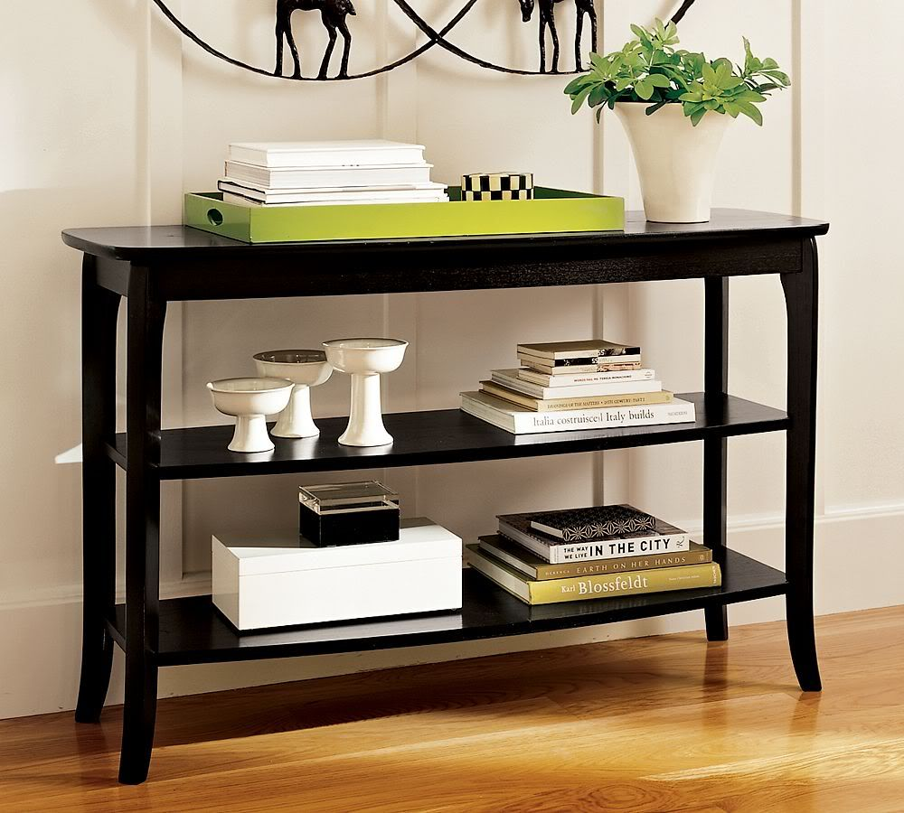 Itus the tops sofa table and bookshelf styling pinterest