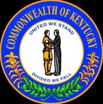 Kentucky Seal Kentucky State Flag Kentucky Kentucky Flag