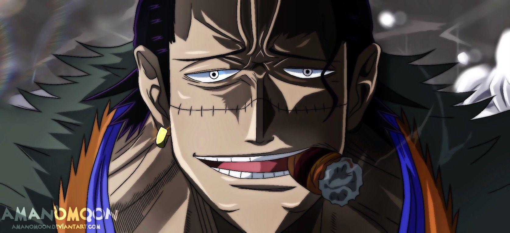 One Piece Crocodile | Sir crocodile, One piece wallpaper iphone, One piece manga