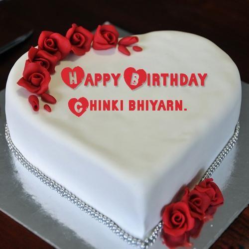 Write Name On Birthday Cake For Your Girlfriend Birthday Cake