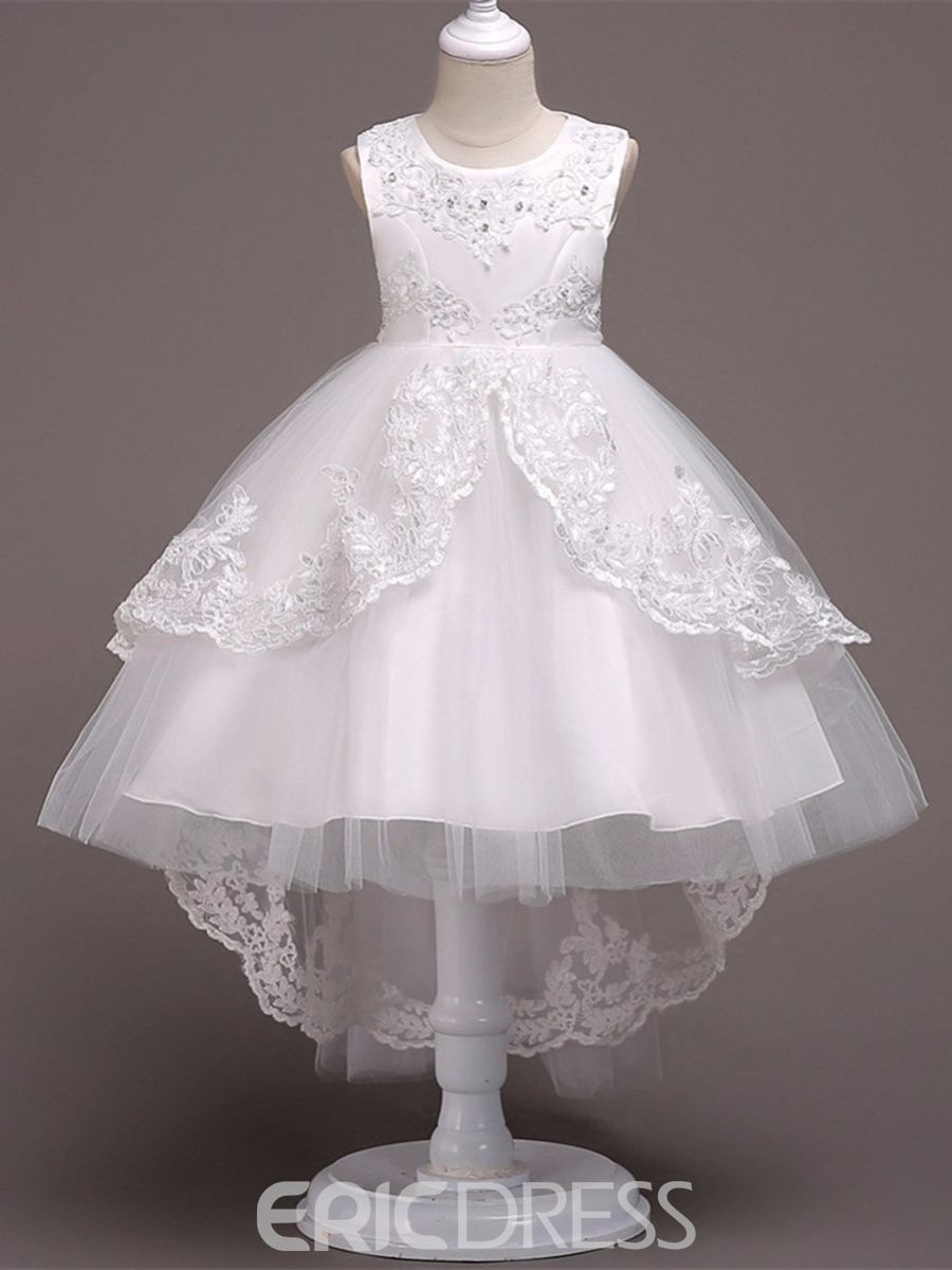 2404ef0b1 Ericdress Ball Gown Tulle White Flower Girl Dress | Pregnancy and ...