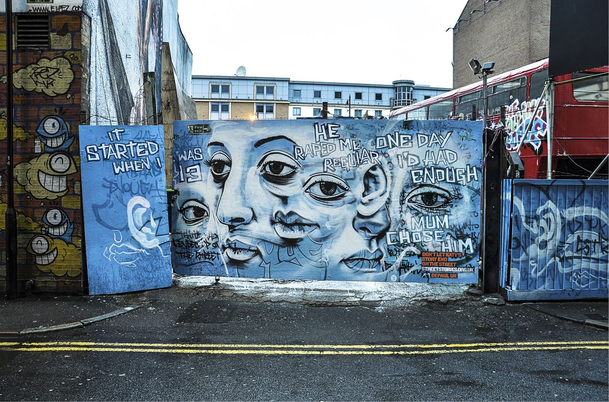 Heartbreaking Murals Tell True Stories Of Homeless Youth Street Art Street Artists Art